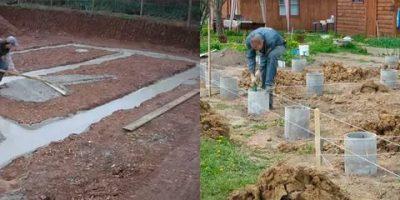 Какой фундамент делать на глинистой почве?