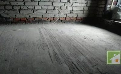 Ремонт бетонного пола в гараже