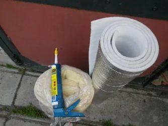 Чем приклеить пенофол к бетону?
