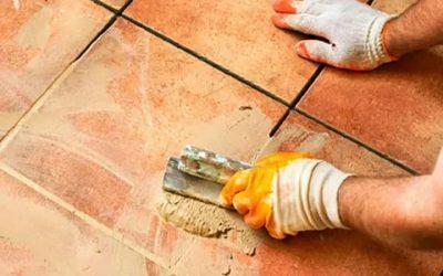 Чем оттереть затирку с плитки на полу?
