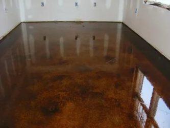 Жидкое стекло для бетонного пола в гараже